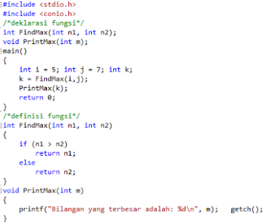 Fungsi dalam Bahasa Pemrograman C++