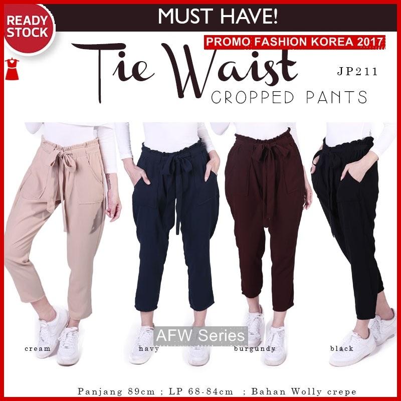 BAMFGW110 Tie Cropped Pants Wanita PROMO BMG