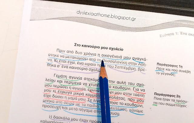 ανάγνωση, μέθοδος, κατάτμηση, δυσλεξία