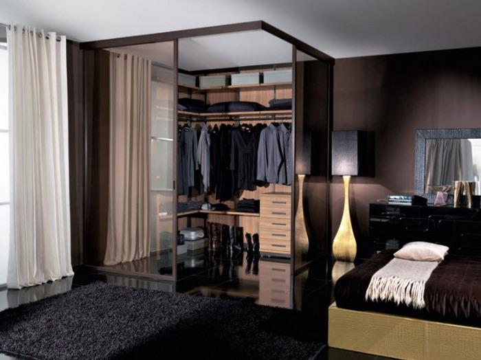 Progetta la tua cabina armadio arredamento facile - Camere da letto con cabina armadio angolare ...
