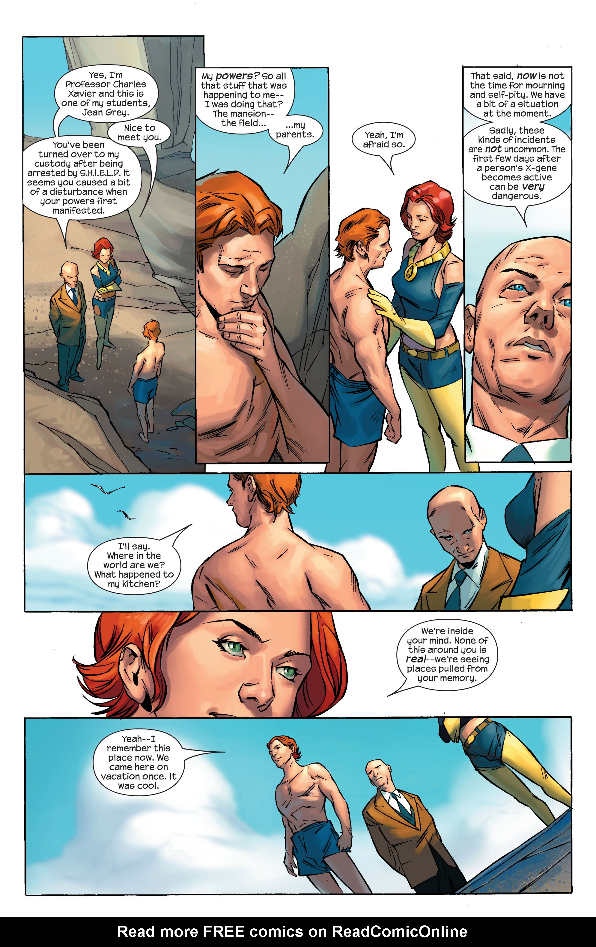 Read online Ultimate X-Men comic -  Issue #69 - 5