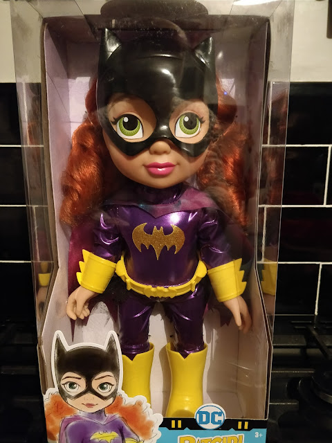 DC SuperHeroGirls Toddler Dolls Batgirl