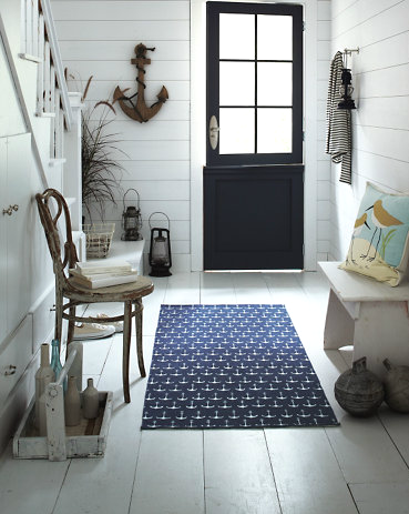 elegant nautical entryway idea