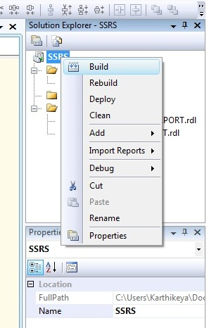 DEPLOYING A REPORT | Microsoft Business Intelligence - Online Free