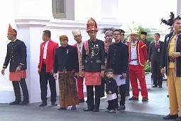 Presiden Jokowi Pakai Pakaian Adat Aceh yang Dijahit Sendiri Dalam Peringatan HUT RI 73