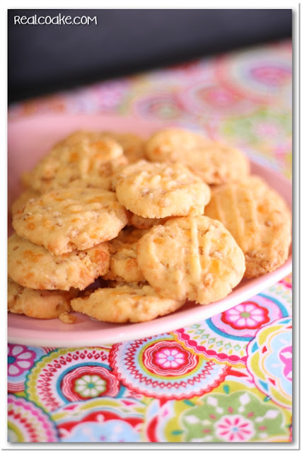 Rice Krispie Recipe {Cheese Rice Krispie Wafers)