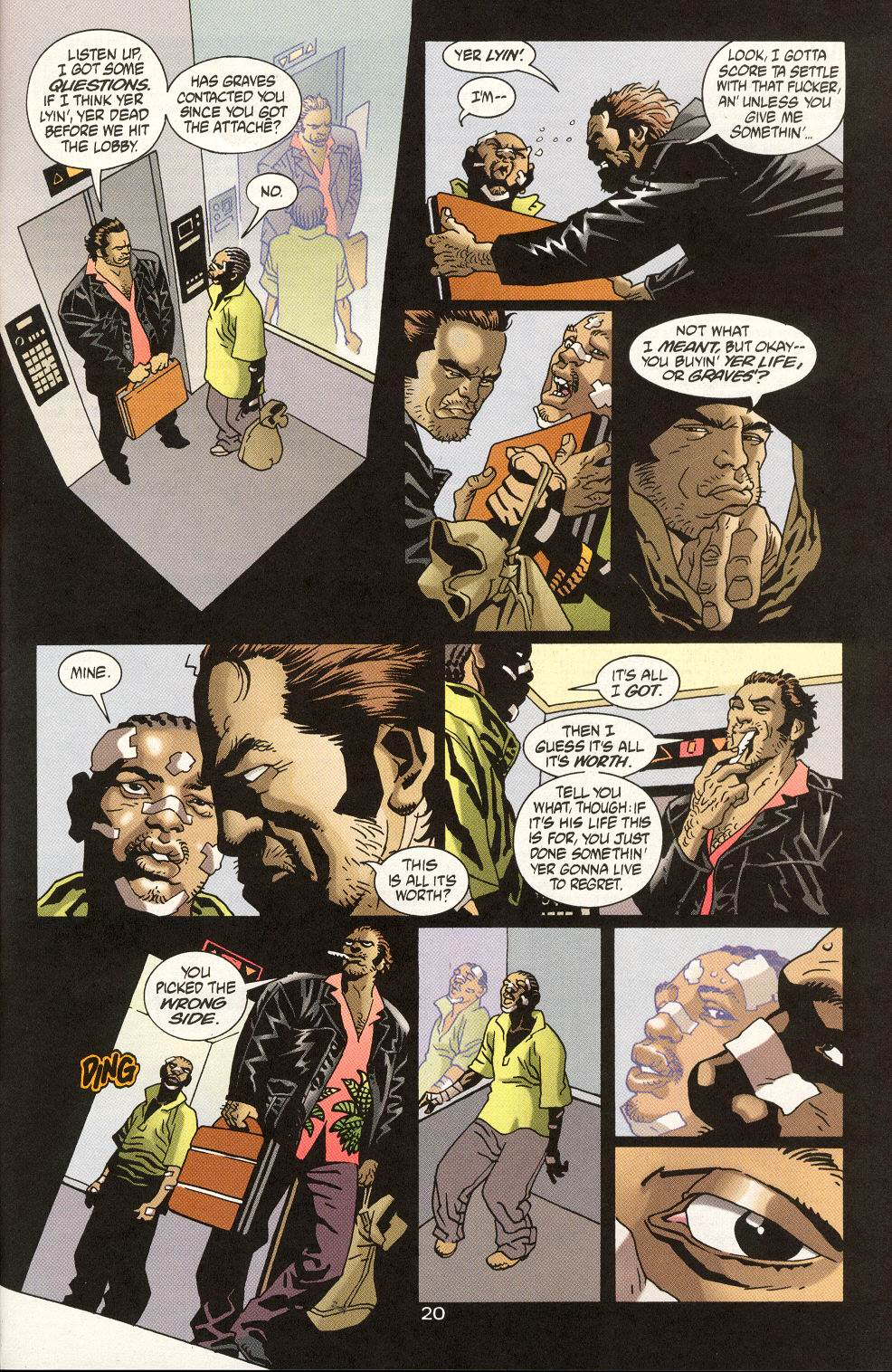 Read online 100 Bullets comic -  Issue #19 - 22