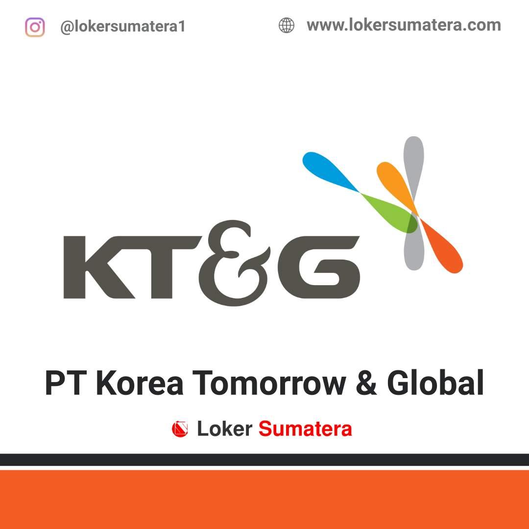 Lowongan Kerja Dumai: PT Korea Tomorrow & Global Juni 2020