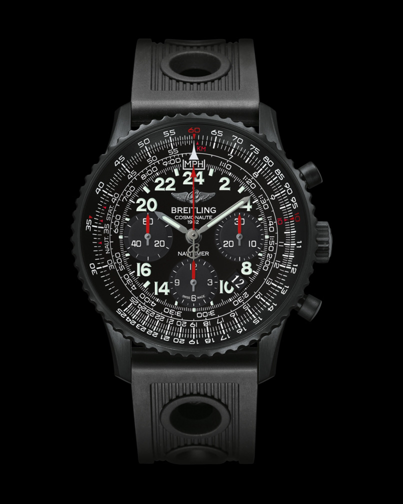 breitling navitimer cosmonaute blacksteel time and watches. Black Bedroom Furniture Sets. Home Design Ideas