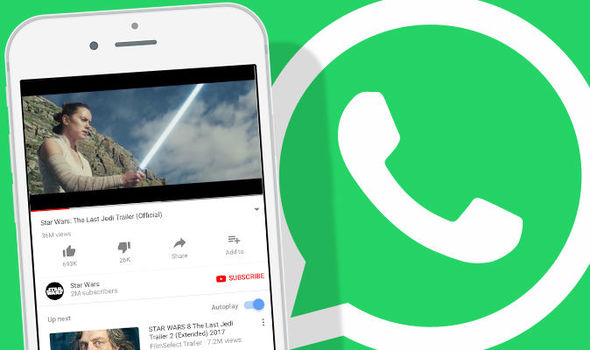 WhatsApp Latest Update, Now Plays YouTube Videos On iPhones