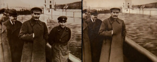 4 February 1940 worldwartwo.filminspector.com Joseph Stalin Nikolai Yezhov Molotov
