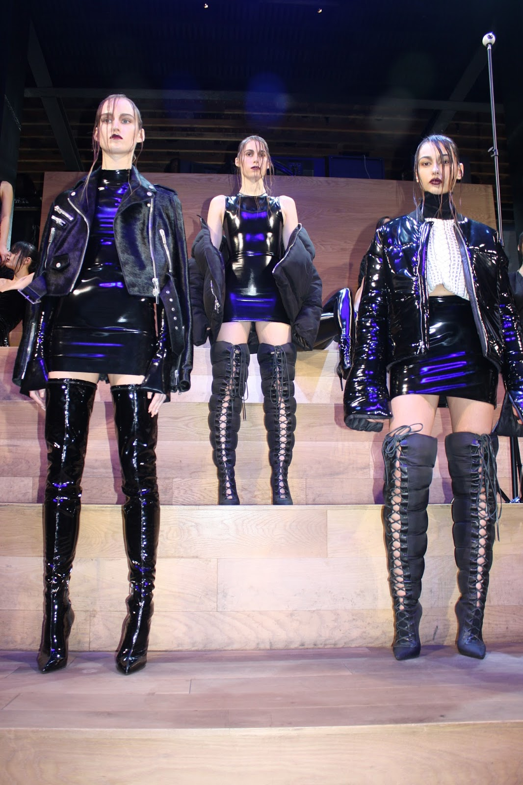 cfba33f53d Laquan Smith presented a smashing presentation in Meatpacking district New  York City for his Fall Winter ready-to-wear collection. The Samsung 837  space was ...