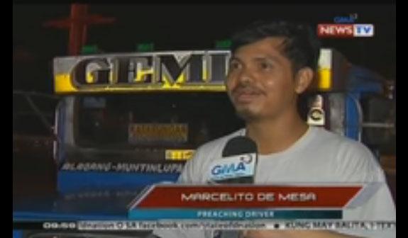 Mr. Marcelito de Mesa, the Good Samaritan.