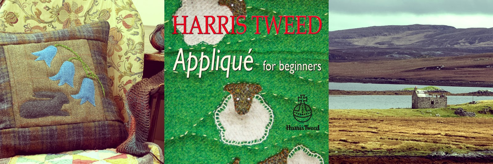 Harris Tweed Applique for beginners