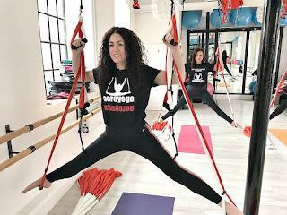 aeroyoga, aerial yoga