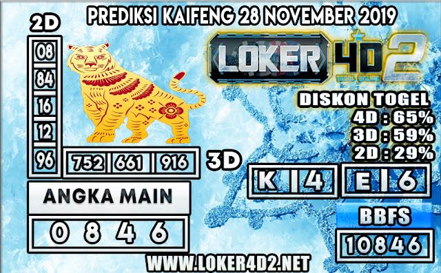PREDIKSI TOGEL KAIFENG POOLS LOKER4D2 28 NOVEMBER 2019