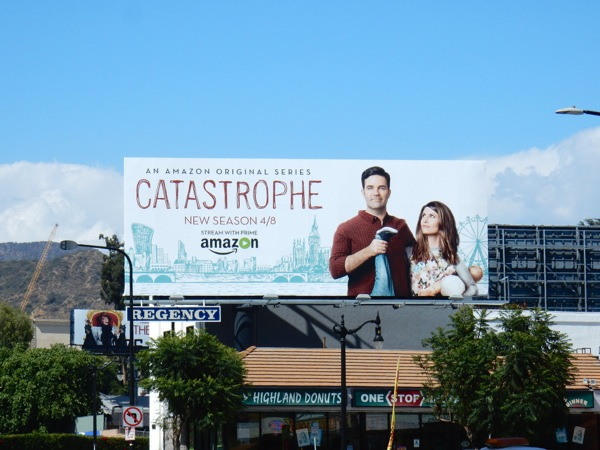 Catastrophe season 2 billboard
