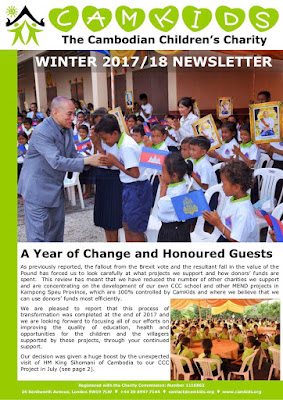 CamKids Winter 2017-18 Newsletter
