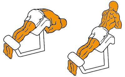Dorsales ejercicio hombre rutina pesas