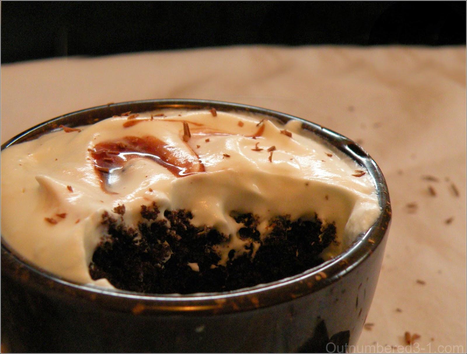 yummy coffee cupcake