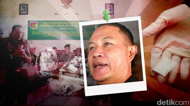 """Tangkap Kolonel Jefri, Mayjen Agus: """"Saya Loyal ke Panglima, Bebaskan TNI dari Narkoba"""", Cakep !"""