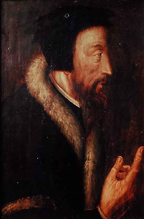 João Calvino. Anônimo, século XVI, Bibliothèque de Genève.