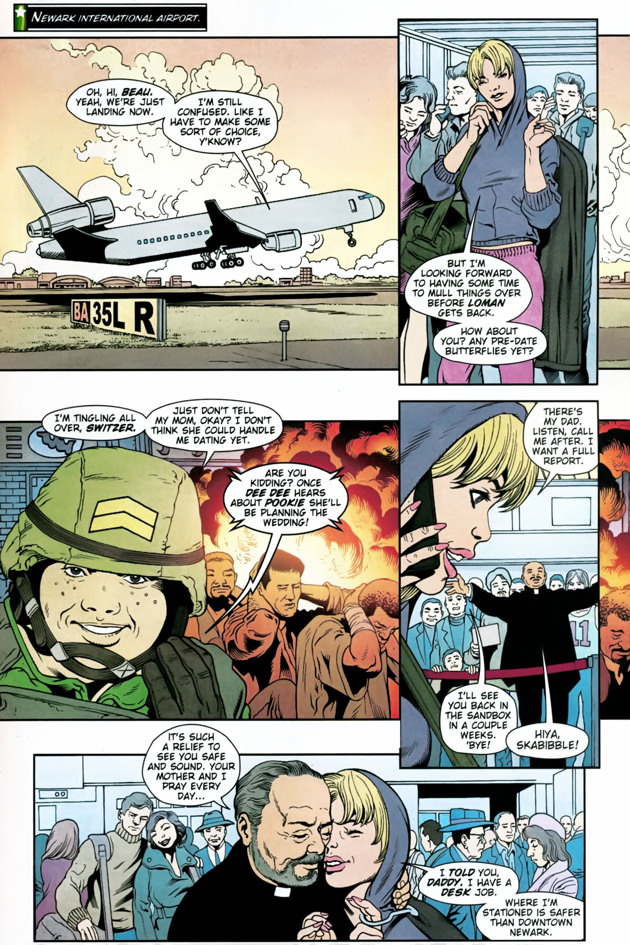 Read online Army @ Love comic -  Issue #11 - 21