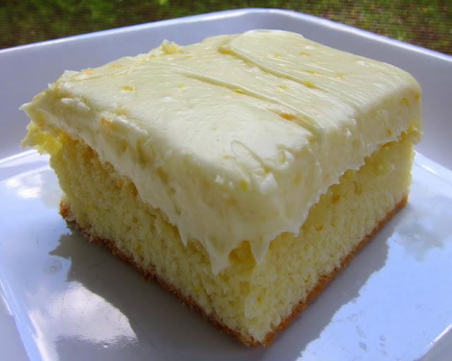 Orange Cake Icing Recipes: Plain Chicken