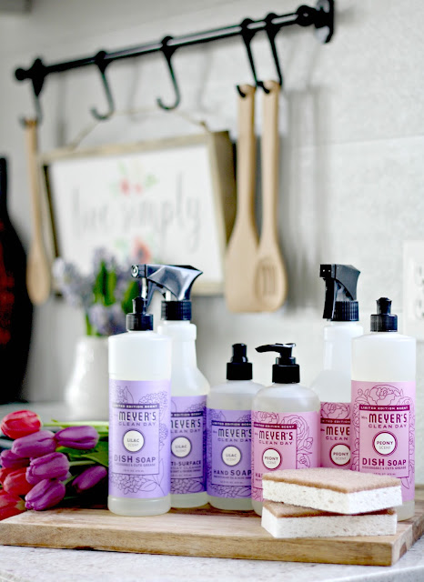 Where to find hard to find Mrs. Meyers scents and products
