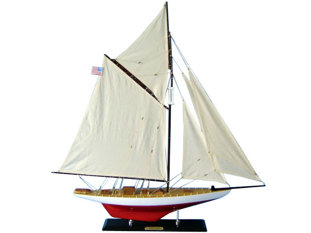 Scaled Sailboat Model Vigilant
