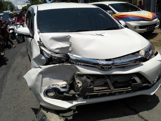 Polisi Amankan Kasus Kecelakaan Beruntun di Jalan Raya Sentani - Abepura