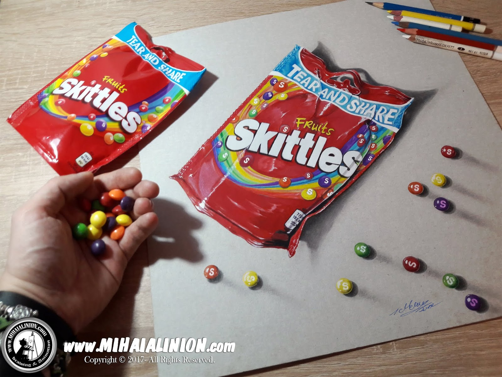 Drawing Skittles, Drawing Candies, Masius Benton & Bowles, Mars Ink, bonbons illustration, Taste the Rainbow, Wrigley, painting skittles, Skkittles commercial, How to draw skittles, skittles pack pencil drawing, illustrations by mihai alin ion, MAI Comics, Mihai Alin Ion, art by mihai alin ion, how to draw, artselfie, drawing ideas, free drawing lessons, drawing tutorial, art, dessin, disegno, dibujo, drawing for kids, drawing, illustration, painting, design, realistic 3d art, coloured pencils, www.mihaialinion.com, 2018, pencil drawing, tempera, acrilics paint, marker, gouache painting, mixed media, comics, comic book, caricature, portrait, cum sa desenezi, caricaturi mihai alin ion, caricaturi si portrete  la comanda, eveniment caricaturi, caricaturi la nunta, caricaturi la botez, caricaturi la majorat, desene pe pereti, desene pentru copii, ilustratie carte, benzi desenate, caricaturi, portrete, comanda caricaturi
