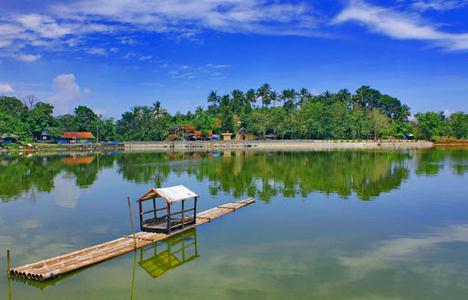 Tempat wisata danau situ gede bogor