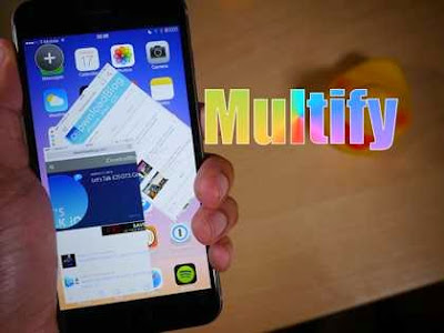Download Multify iOS 8.1.2 :Do Multitasking on Iphone Cydia Tweaks