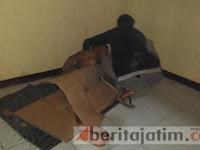 HEBOH! Pemuda Ponorogo Hanya Bercelana Dalam Bobol Kotak Amal