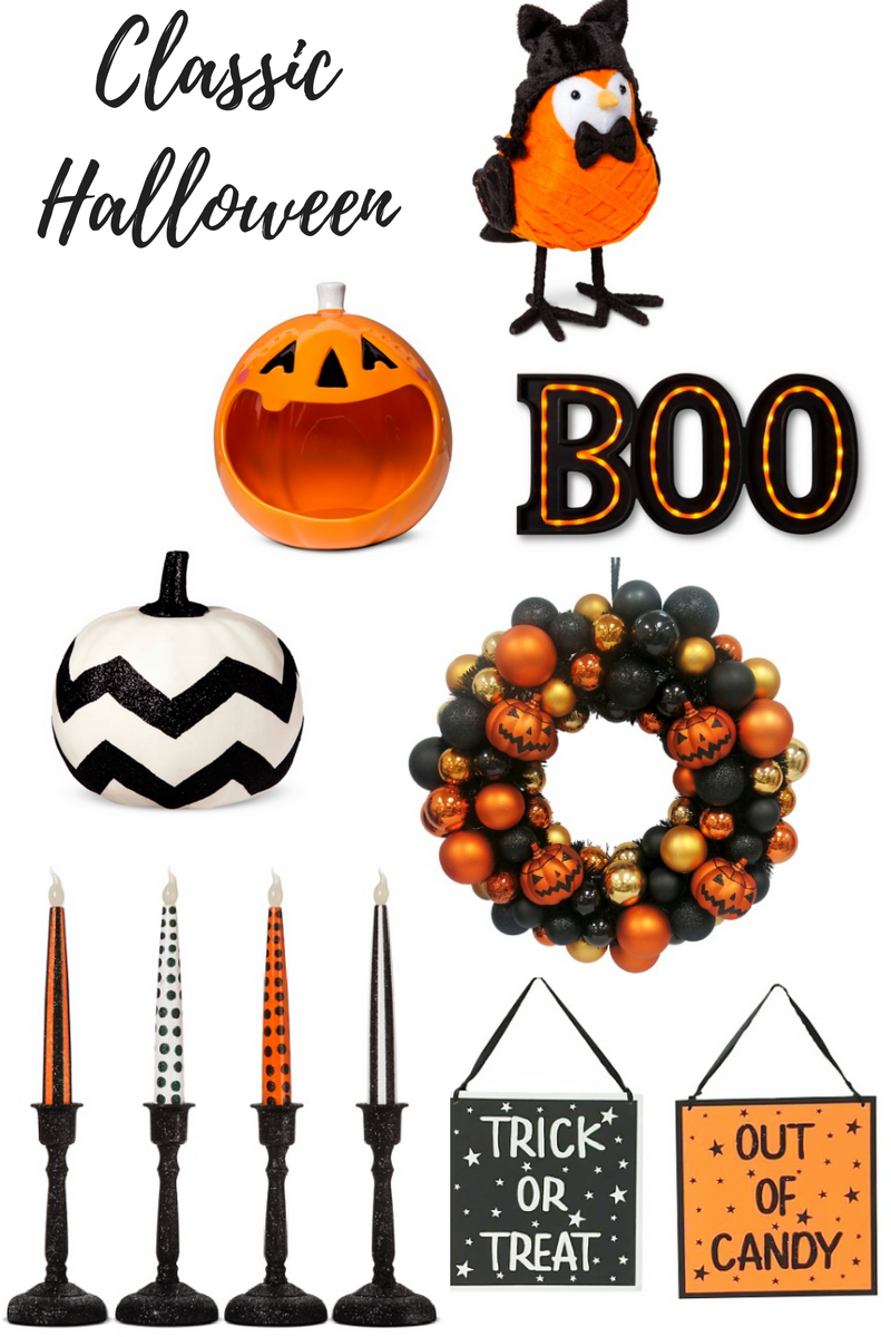 the marquee sign is so hot right now and a great price for a cute piece i am in love with this set of cutesy halloween decor