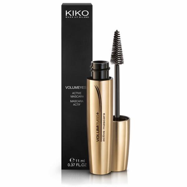 mascara de pestañas kiko cosmetics