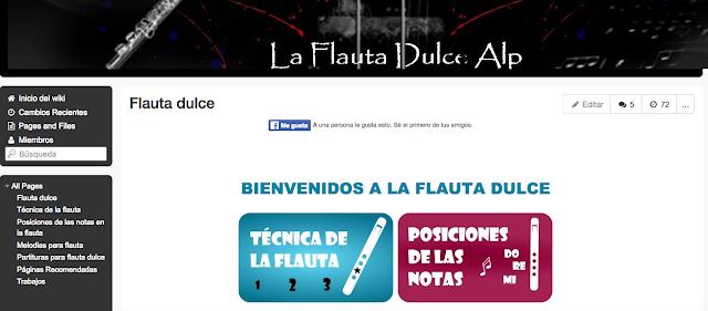 http://laflautadulcealp.wikispaces.com/Partituras+para+flauta+dulce