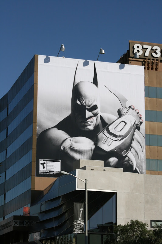 Batman Arkham City billboard