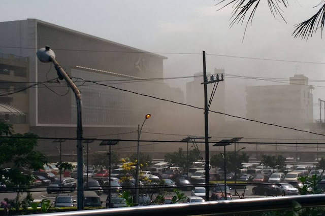 BREAKING: Trinoma Mall In Quezon City Is Now On Fire!