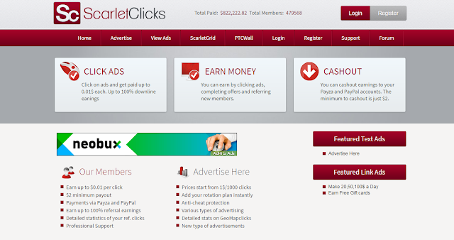 REGISTRO SCARLET-CLICKS
