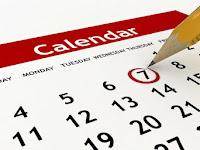 Tạo text thay đổi theo ngày (lịch sự kiện - calendar event)