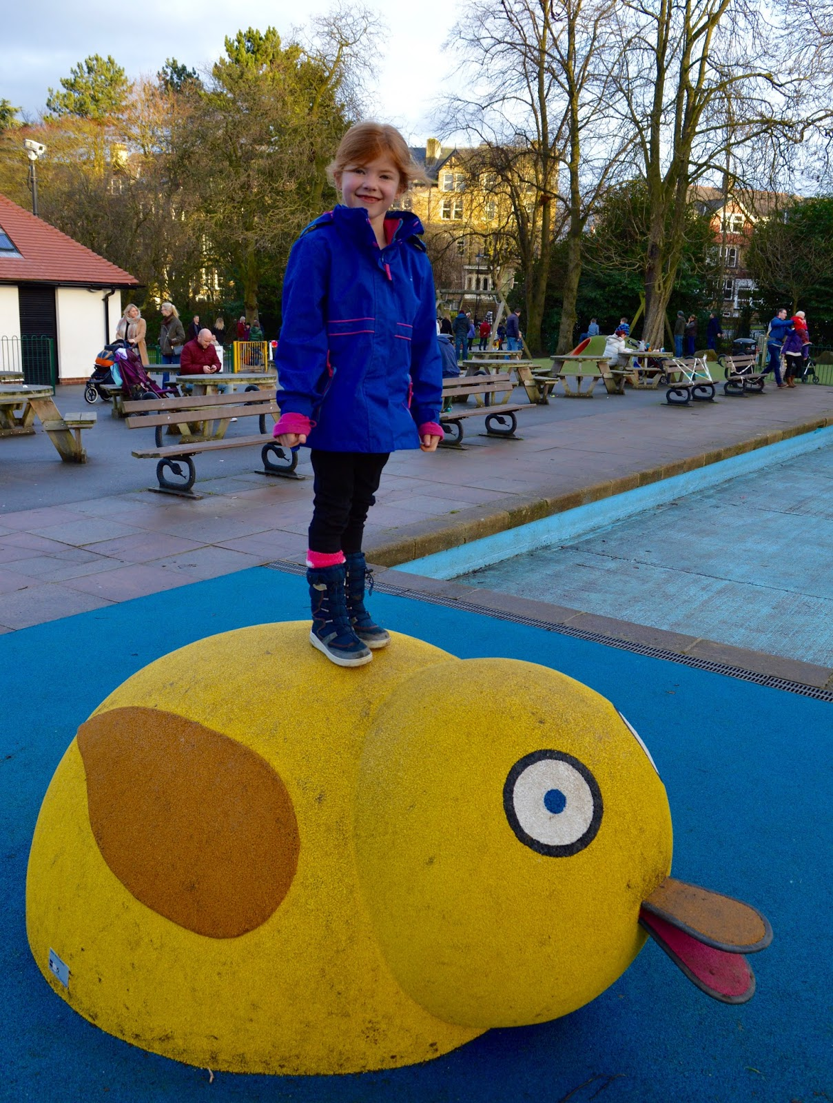 48 Hours in Harrogate with Kids | Harrogate Serviced Apartments Review - Valley Gardens Play park