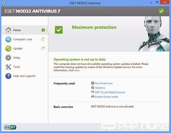 ESET NOD32 Antivirus 7 0 302 26 SERIAL KEYS with PATCH
