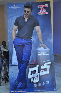 dhruva trailer launch stills