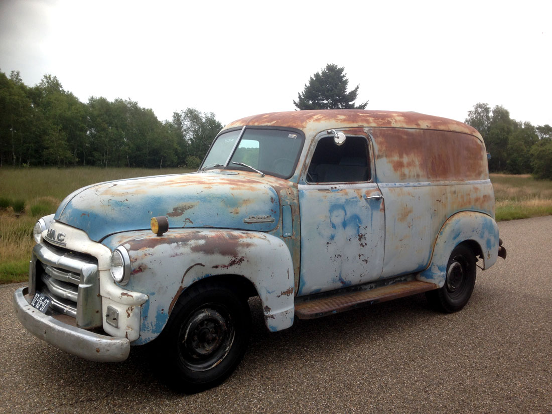 Rodcitygarage  1948 Gmc Panel Van    Truck