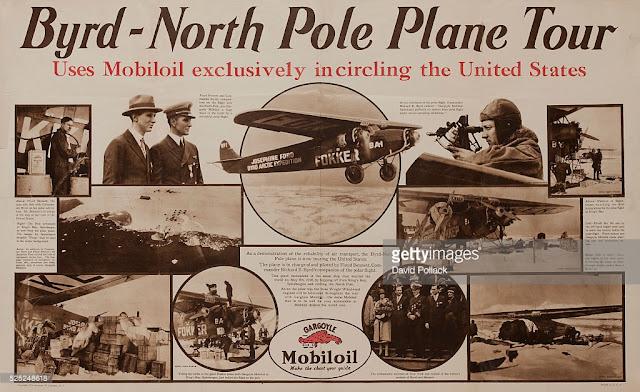 Colagens da exploração de Byrd na Antártida