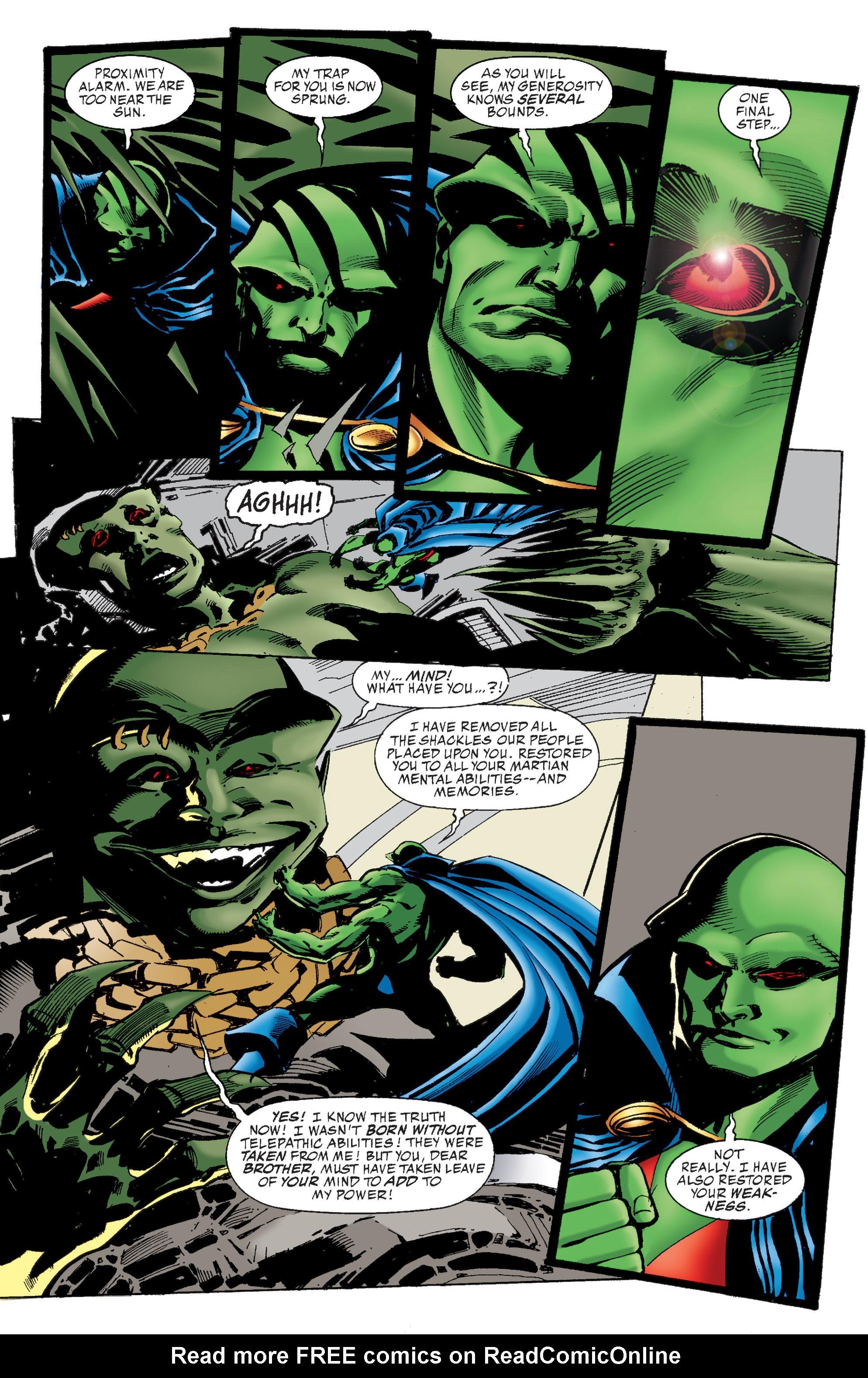 Read online Martian Manhunter: Son of Mars comic -  Issue # TPB - 230