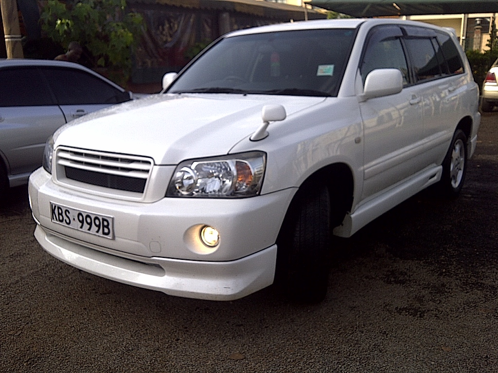 2013 Toyota Highlander For Sale >> NairobiMail: TOYOTA KLUGER 2005 PEARL