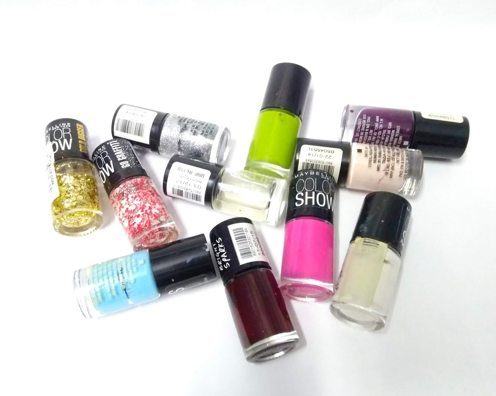 Maybelline Color Show Nail Polishes | Review